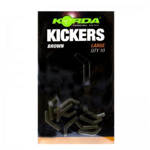 Лентяйка Korda Kickers Brown Large для крючка №1-4