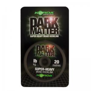 Поводковый материал Korda Dark Matter Braid 15lb 20м