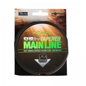 Леска коническая Korda Subline Tapered Mainline 0,28-0,50мм
