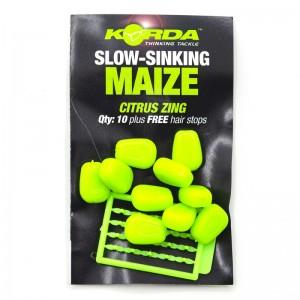 Имитационная приманка Korda Corn Slow Sinking Green