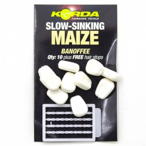 Имитационная приманка Korda Corn Slow Sinking White