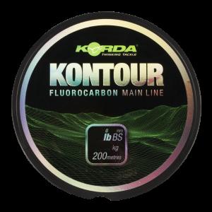 Леска тонущая Korda Kontour Fluorcarbon 15lb