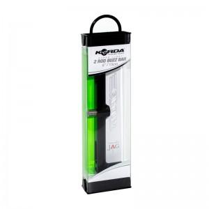 Перекладина бузз-бар Korda Singlez Black 2 Rod buzzbar 6.0'' черная на 2 удилища