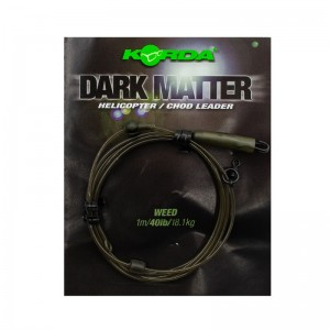 Готовый монтаж Korda Dark Matter Leader Heli Weed 40lb