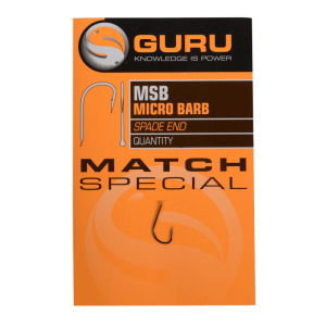 GURU Крючок Match Special Barbed №16 c бородкой