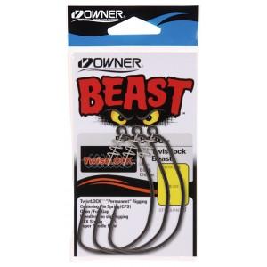 OWNER Крючок Beast With Twist Lock BC №4/0 3шт