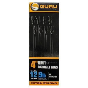 """Поводок готовый Guru QM1 Bayonet Ready Rigs 4"""" 10см №12"""