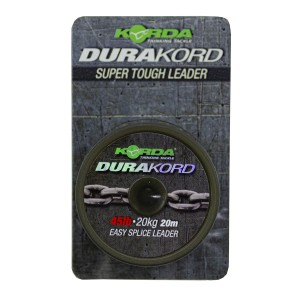 KORDA Шок-лидер Dura Kord Dyneema Spliceable Leader 45lb 20м