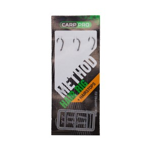 Готовый поводок Carp Pro Method Hair Rig Line 0,18мм Hook Size #12
