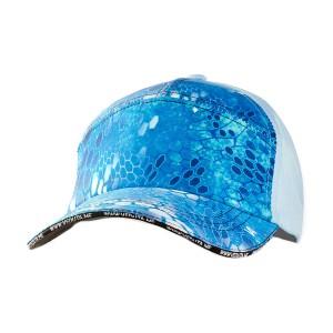 Кепка 7 панельная Veduta Reptile Skin Blue Water универсальный размер