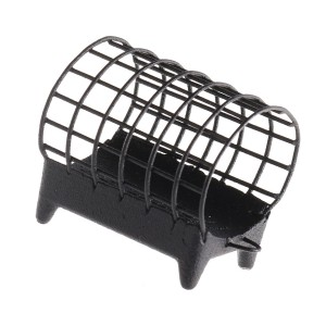 Кормушка Flagman металлическая Grouser Wire Cage M 33x28мм. 100g