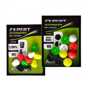 Плавающие стопора для бойлов Carp Pro Mix Color половинка бойла 10шт