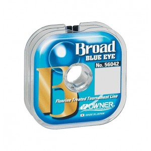 OWNER Леска Broad Blue Eye 100м 0,12мм 1,5кг