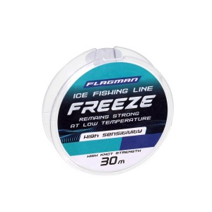 Леска Flagman Freeze Ice Fishing Line 30м 0.128мм