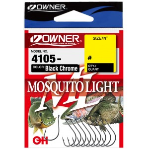 OWNER Крючок Mosquito Light BC №1 8шт