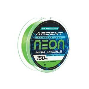 Леска Flagman Ardent Neon 150 м, 0.18 мм