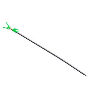 Подставка телескопическая для удилища Flagman серая/салатовая 150см
