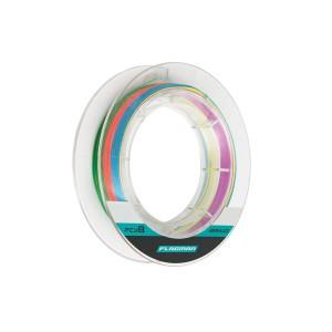 Шнур Flagman Braid PE Multicolor X8 150 м 0.185 мм