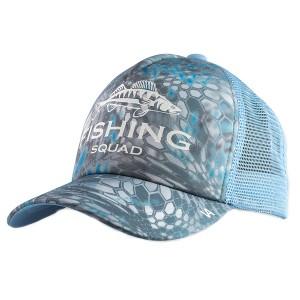 Кепка тракер Veduta Fishing Squad Reptile Skin Blue универсальный размер