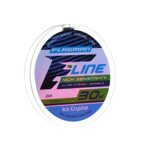 Леска Flagman F-Line Ice Crystal 30м 0.20мм