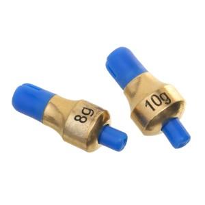 Глубиномер Flagman Push-Button Plummets Set Medium 8г 10г