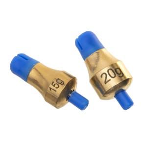 Глубиномер Flagman Push-Button Plummets Set Large 15г 20г