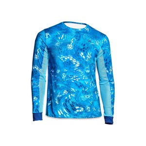 Джерси Veduta Air серия UPF50+ Reptile Skin Blue Water 2XL мужская