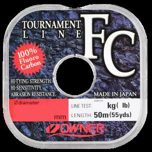 Леска Owner Tournament FC 50м 0,2мм 2,8кг