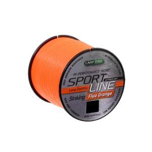 Леска Carp Pro Sport Line Neo Orange 1000м 0.22мм