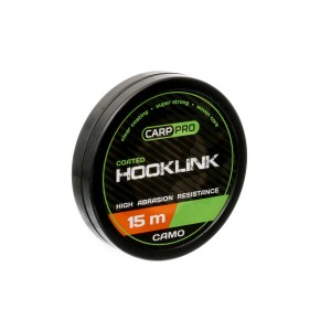 Поводковый материал Carp Pro Soft Coated Hooklink Camo 15м 20lb