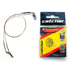 Поводок Catcher 49 вол (15кг 25см) 2шт