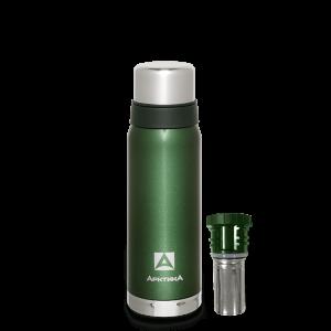 АРКТИКА Термос для напитков вакуумный бытовой 0,75л зеленый