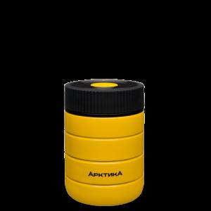 АРКТИКА Термос для еды вакуумный бытовой 0,48л желтый