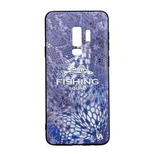 Чехол силиконовый Veduta Samsung Galaxy S9+ Reptyle Skin Bl