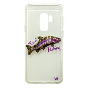 Чехол силиконовый Veduta Samsung Galaxy S9+ Trout Fishing