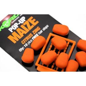 KORDA Имитационная приманка Maize Pop Up Citrus Zing Orange всплывающая