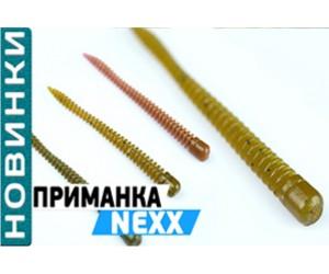 О съедобных силиконовых приманках Flagman Nexx.