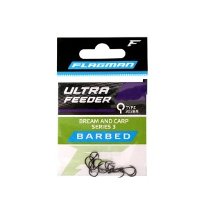 Крючки Flagman Ultra Feeder Bream And Carp Series 3 №12