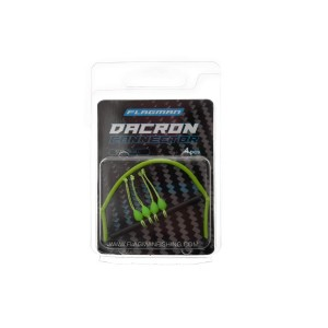 FLAGMAN Коннектор для штекера Dacron Connector зеленый S 4х6мм