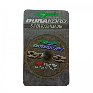 KORDA Шок-лидер Dura Kord Dyneema Spliceable Leader 45lb 15м