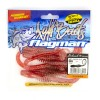 "Червь Flagman Helical 8"" salmon ruby"