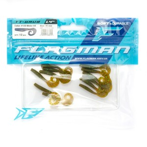 Твистер Flagman TT-Grub 1.4'' #133 Motor Oil