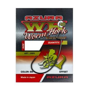 Крючки Azura Tournament Worm Hook №1