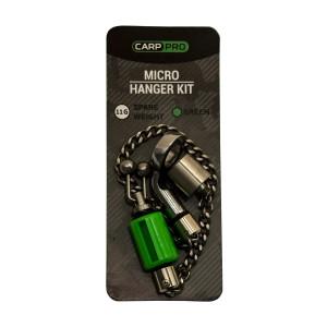 CARP PRO Набор свингеров Hanger микро нерж сталь green