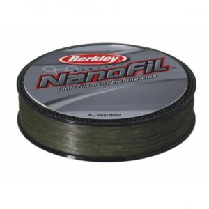 BERKLEY Шнур Nanofil 125м темнозеленый 0,22мм 14,7кг Lo-Vis green