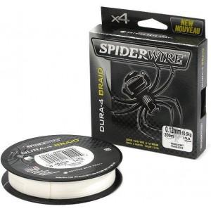 SPIDERWIRE Шнур плетеный Х4 Dura Braid 150м полупрозрачный 0,35мм 35,0кг 77lb