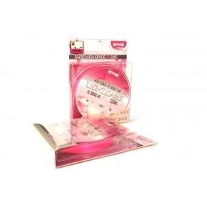 Шнур HITFISH Light game #0.6 (0.128mm, 6,35 kg) Pink 150m