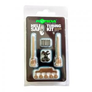 Набор для отстегивающейся клипсы Korda Heli Safe Tubing Kit Gravel