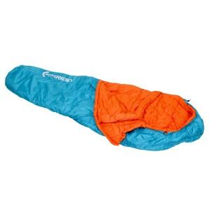 FORREST Спальный мешок Trek 350 Blue-Orange 220x80x50см