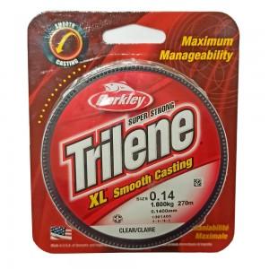 BERKLEY Леска моно Trilene XL 0,14мм 270м Clear